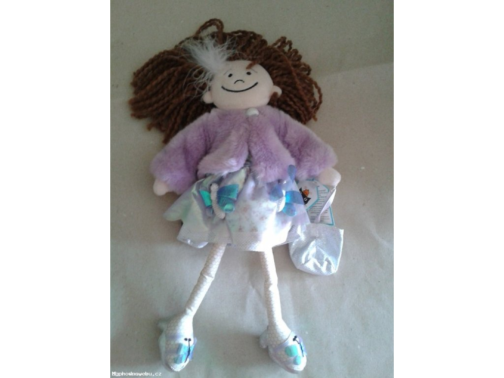 Hadrová panenka ručně šitá (JellyCat)