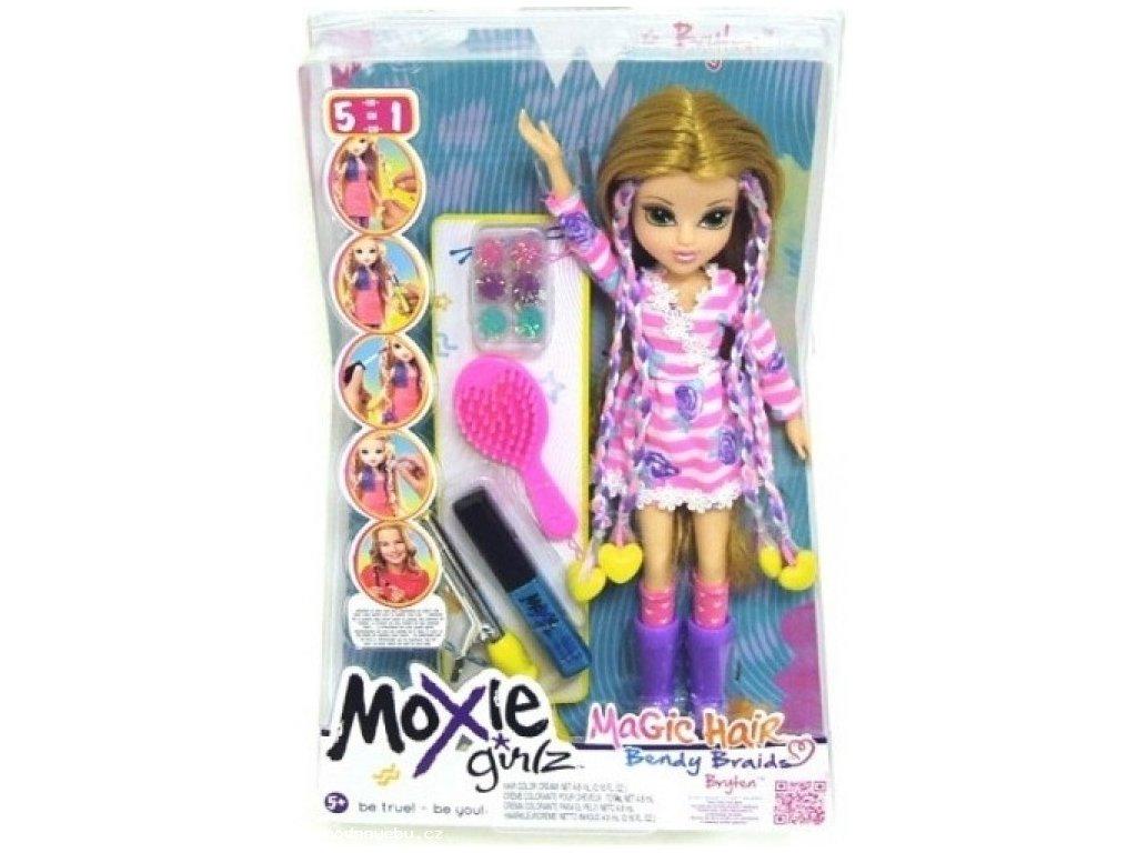 Moxie Girlz - magické vlasy s barevnými sponkami blondýnka (Zapf Creation)