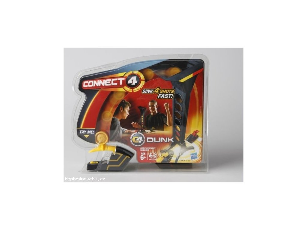 Společenská hra Connect 4 s odpalovačem (Hasbro)