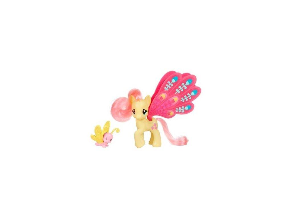 My Little Pony - poník s velkými křídly a s kamarádem Flutershy