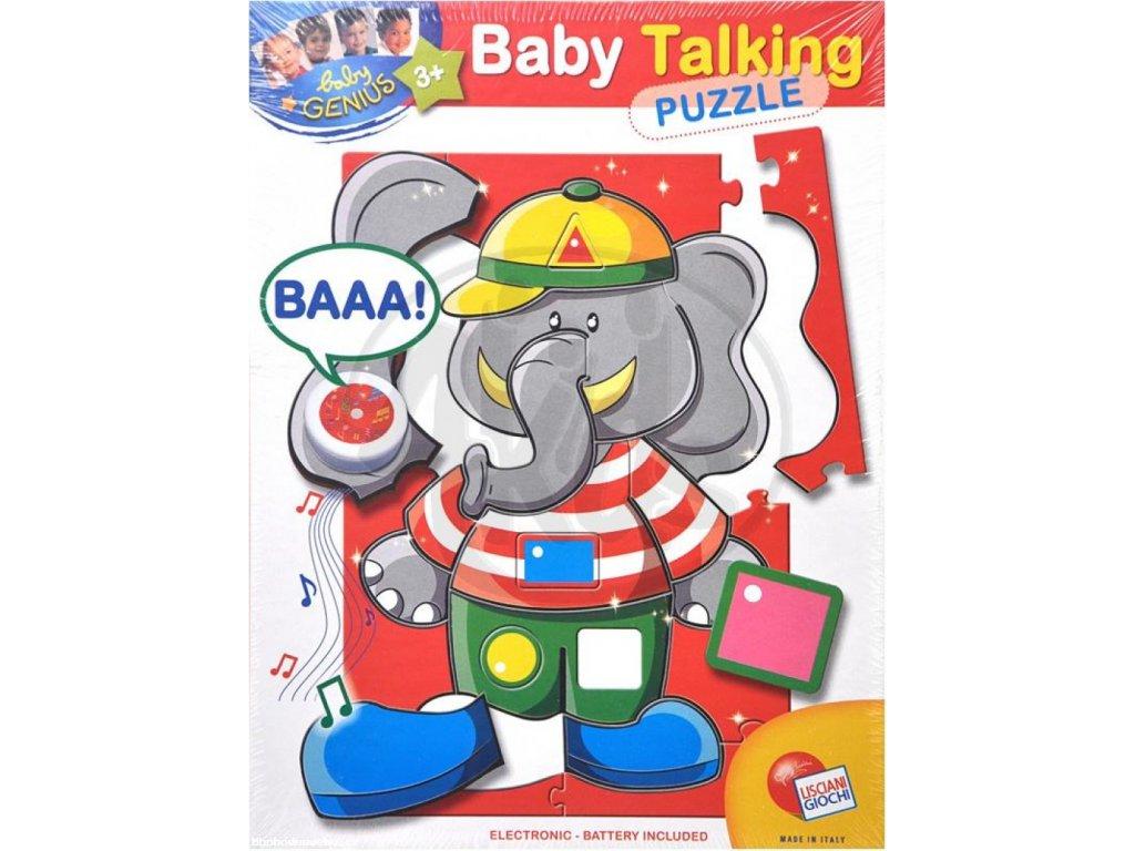 Baby genius se zvukem - slon