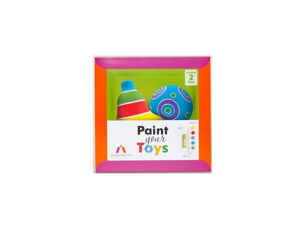 Kreativní sada: Vybarvi si svoje hračky!