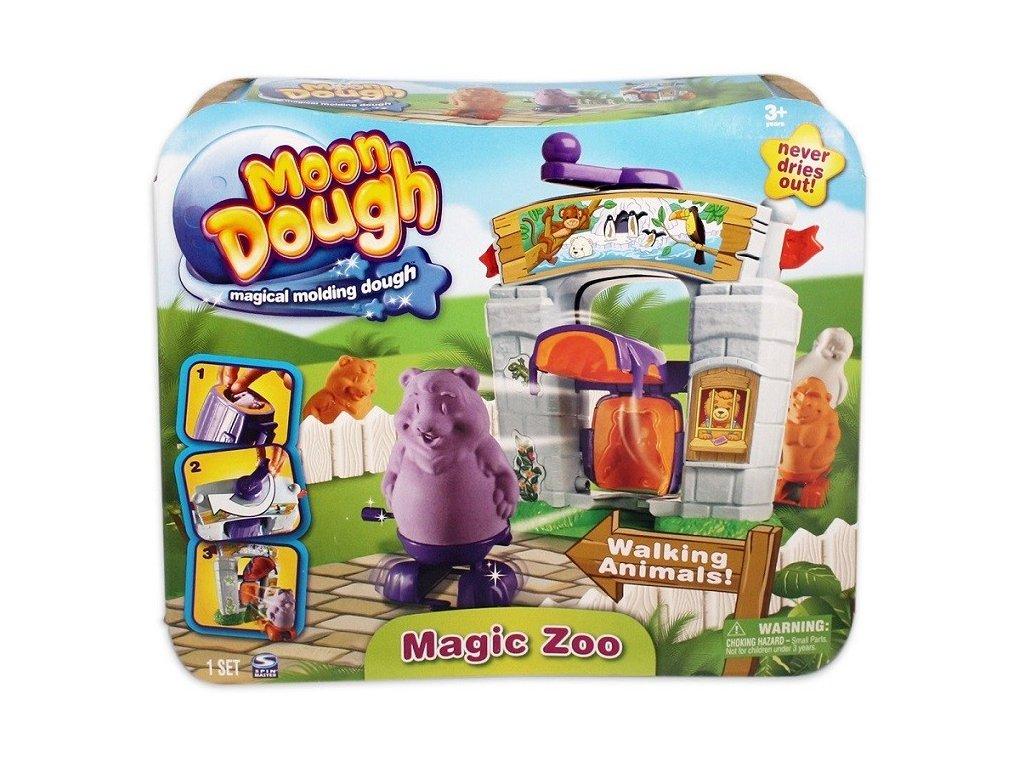 Moon Dough velká sada modelovací stanice magické zoo