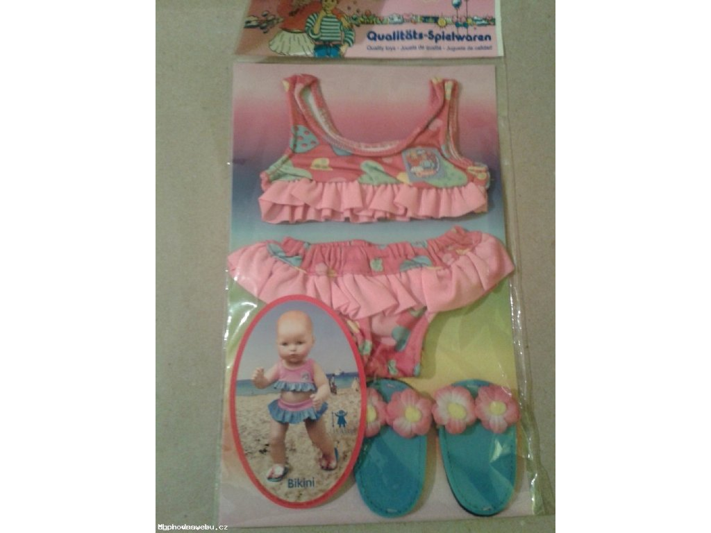 Plavky set pro panenky 35-45cm
