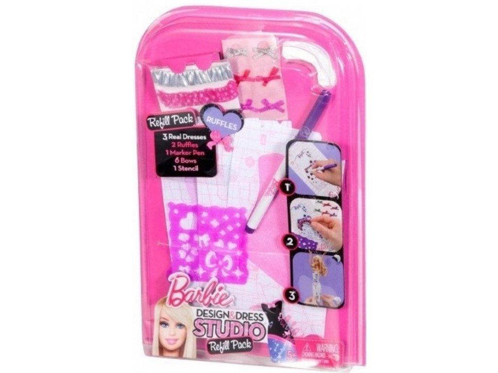 Barbie design studio doplňky - Fialová (Mattel)