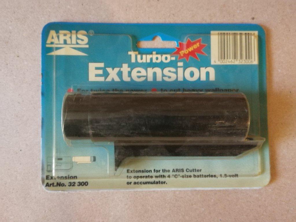 Rozšiřující nástavec na baterie k nůžkám na tapety ARIS