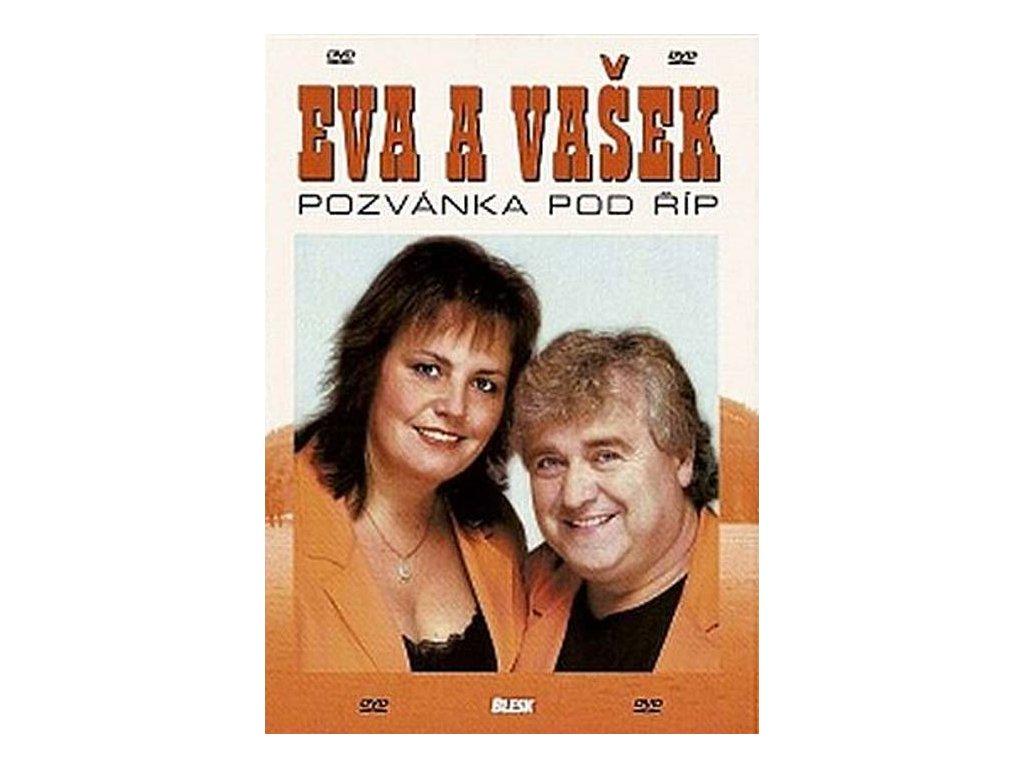 Eva a Vašek - Pozvánka pod Říp, DVD pošetka