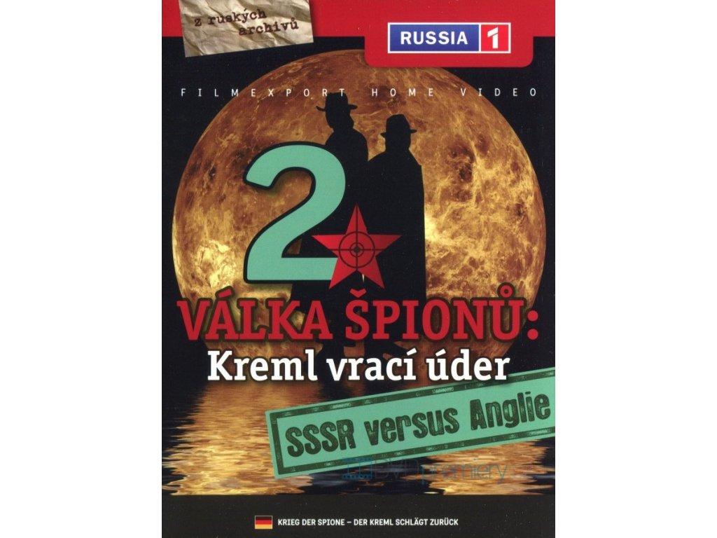 DVD Válka špiónů: Kreml vrací úder 2 - SSSR versus Anglie (HR2.1)