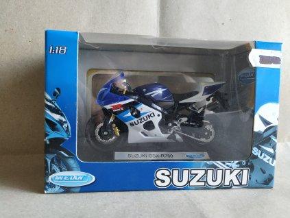 Suzuki GSX-R750 Welly 1:18 (HR2.13)