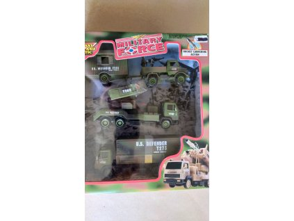 Sada vojenských vozidel (HR2.11)
