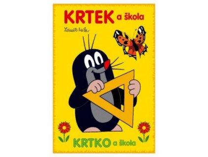 Omalovánky A5 Krteček a škola (R)