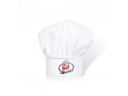 MaRud MERCH - Kuchařská čepice Šéfkuchař