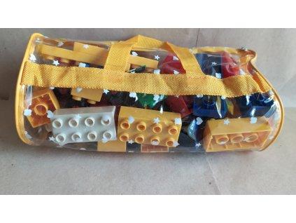 Stavebnice kostky, vagónky a postavy (HR2.1)