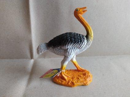 Zvíře - pštros 10cm (HR2.2)
