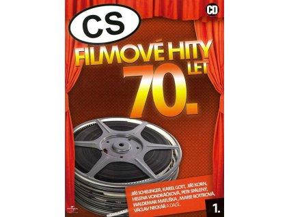 Různí - CS Filmové hity 70. let 1., CD digipack