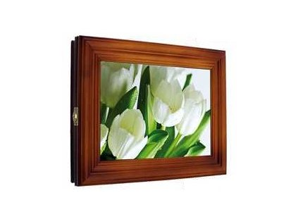 """Skřínka na klíče """"Bílé tulipány"""""""