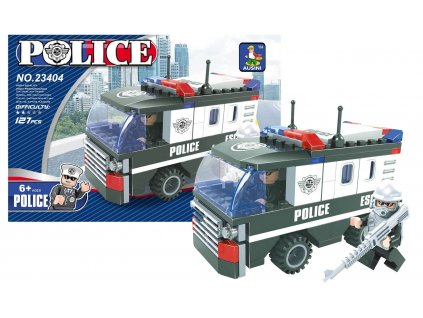 STAVEBNICE AUSINI POLICEJNÍ AUTO, 127 DÍLŮ