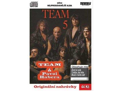 Team - 5, CD pošetka