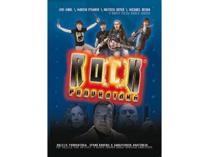 rock podvrataku dvd