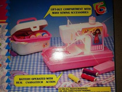 Dětský šicí stroj na baterie s příslušenstvím (HR2.2)