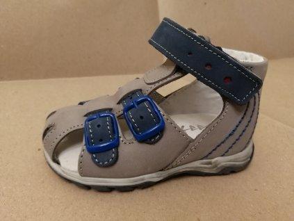 Dětská letní obuv Sázavan ESSI S3040 šedá