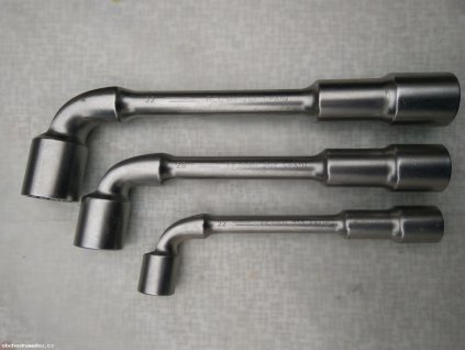 BAHCO - Trubkový dvouhlavý nástrčný zahnutý klíč 22