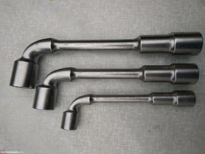 BAHCO - Trubkový dvouhlavý nástrčný zahnutý klíč 24