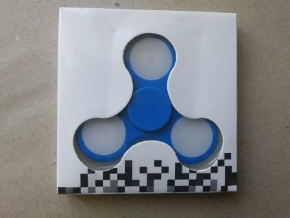 Fidget Spinner modrý
