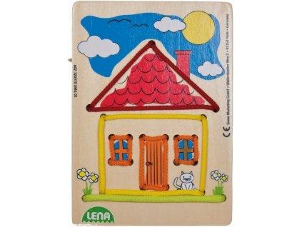 Navlékací obrázek dům (Lena)