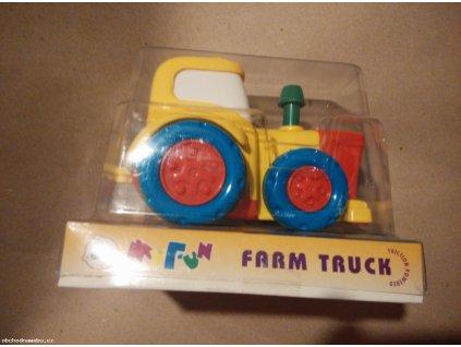 Traktor 14cm na setrvačník (od 18 měs.)