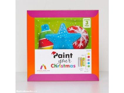 Kreativní sada: Vybarvi si své Vánoce!