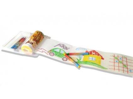 Doodle roll pastelky s papírem