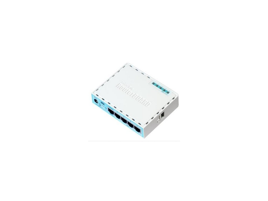 MikroTik RouterBOARD hEX, 880MHz