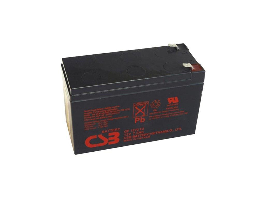 370021 Baterie CSB GP1272 F2 12V, 7.2Ah