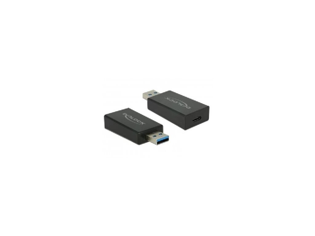 370054 Delock Adaptér SuperSpeed USB 10 Gbps (USB 3.1 Gen 2) TypA samec