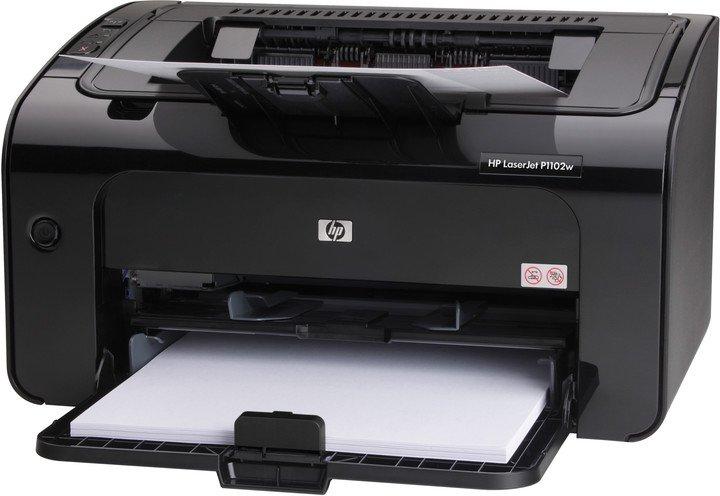 Výměna toneru v HP LaserJet P1102 w