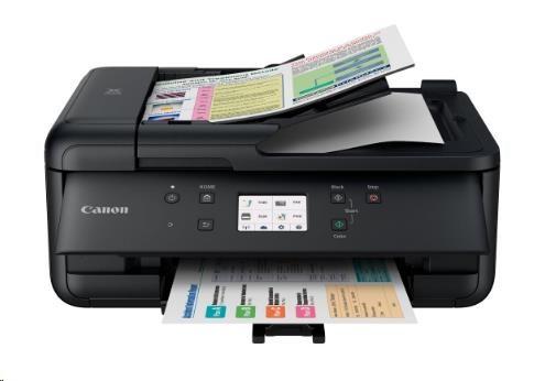 Jak vyměnit náplň do tiskárny Canon Pixma TS705?