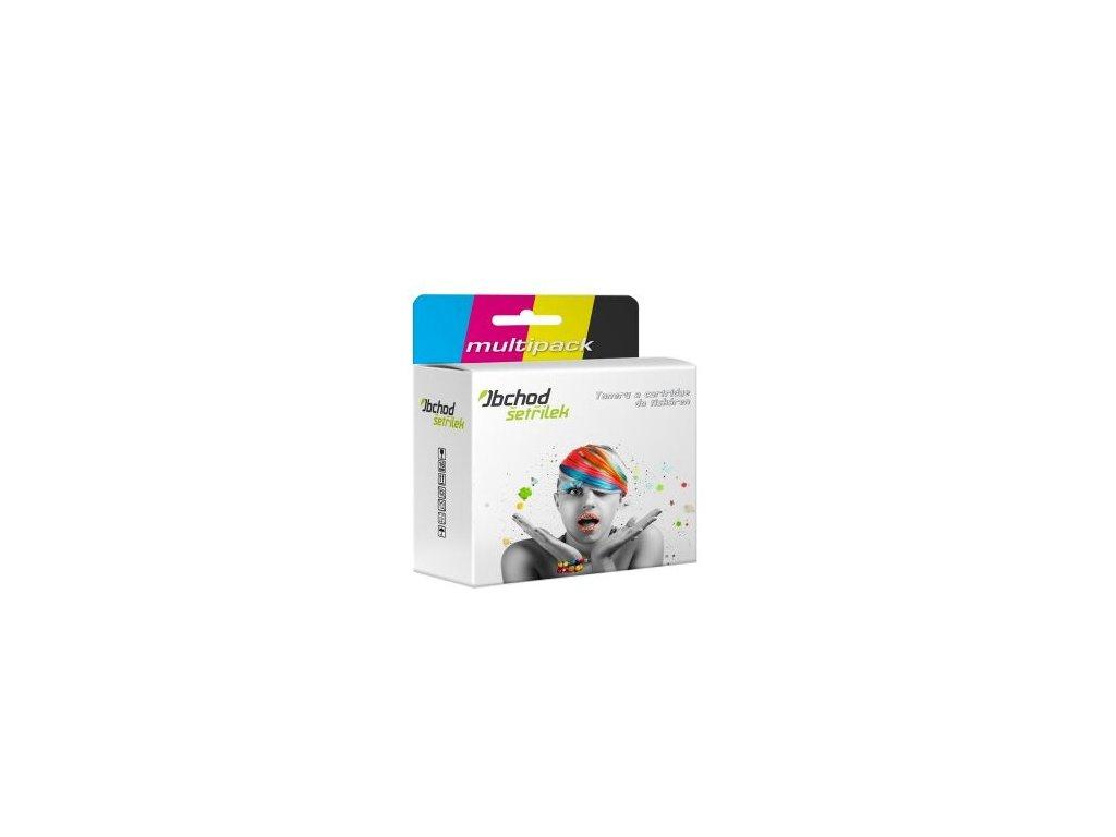 Náplně do tiskárny Canon PGI-550Bk + Multipack CLI-551 Bk/C/M/Y XL - kompatibilní (neoriginální kazety) s čipem