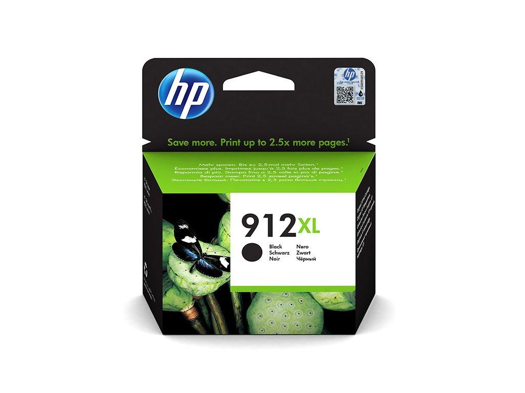 HP 912XL, černá (HP 3YL84AE) - originální kazeta