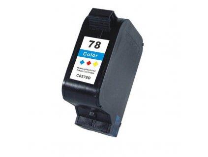 Náplň do tiskárny HP C6578AE, barevná (HP 78) - kompatibilní (neoriginální kazeta)