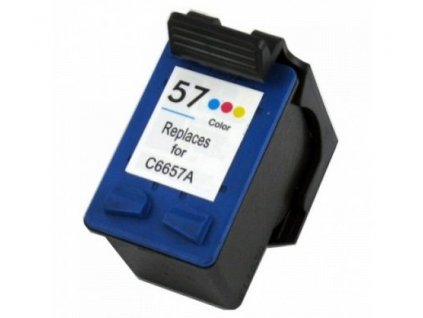 Náplň do tiskárny HP C6657AE, barevná (HP 57) - kompatibilní (neoriginální kazeta)