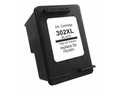 HP F6U68AE, černá (HP 302 XL) - kompatibilní