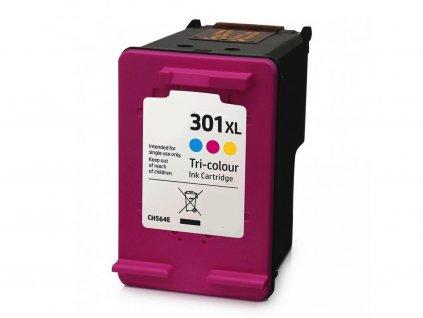 Náplň do tiskárny HP CH564EE, barevná (HP 301 XL) - kompatibilní (neoriginální kazeta)
