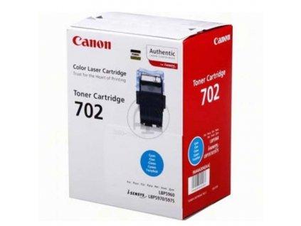 CANON CRG-702C, Azurový, 9644A004 - originální toner