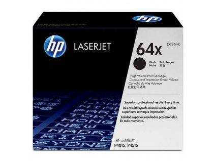 HP CC364X, černý (HP 64X) - originální toner
