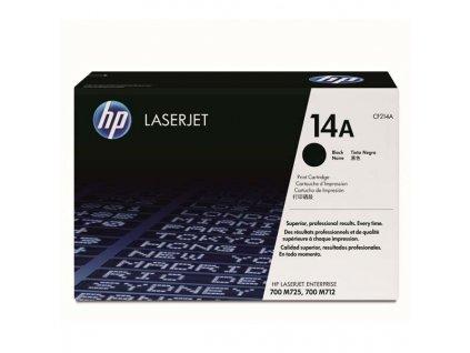 HP CF214A, černý (HP 14A) - originální toner