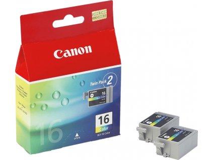 Náplň do tiskárny Canon BCI-16C, Barevná (9818A002) - originální kazeta