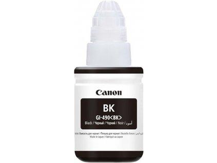 Náplň do tiskárny Canon GI-490 Bk, černá (0663C001) - originální kazeta
