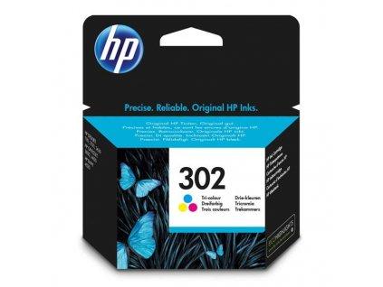 Náplň do tiskárny HP F6U65AE, Barevná (HP 302) - originální kazeta