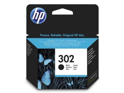 Náplň do tiskárny HP F6U66AE, černá (HP 302) - originální kazeta